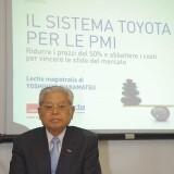 Il 20 novembre la Lectio Magistralis del sensei Wakamatsu, paladino del TPS